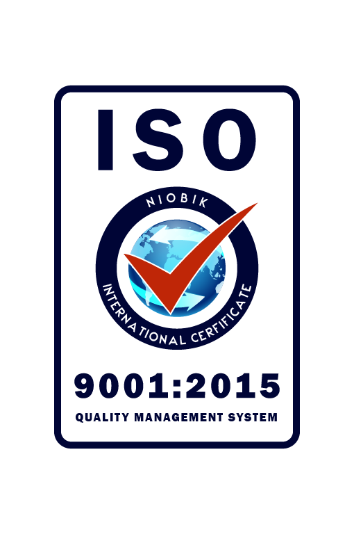 ISO 9001 is an international standard in the field of quality management system.